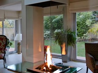cheminée contemporaine par Bloch Design Moderne