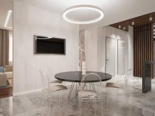 Cucina in stile  di Архитектурно-строительное бюро ID Craft, Minimalista