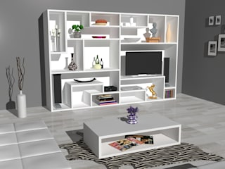 Piwko-Bespoke Fitted Furniture Living roomTV stands & cabinets