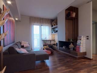 Modern living room by Diego Bortolato Architetto Modern