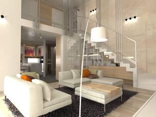 Residential interior design: modern Living room by xxx_yyy