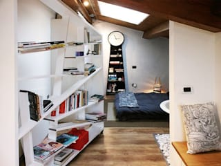 Modern Yatak Odası Spazio 14 10 di Stella Passerini Modern