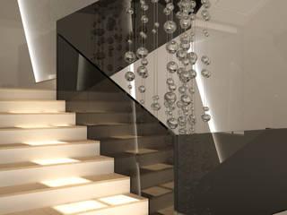 Hành lang, sảnh & cầu thang phong cách hiện đại bởi homify Hiện đại