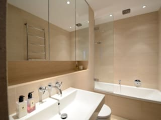 Belsize Park Modern Bathroom by Gregory Phillips Architects Modern