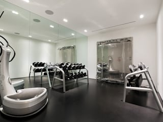 Hyde Park Mews Modern Gym by Gregory Phillips Architects Modern