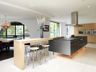 Projekty,  Kuchnia zaprojektowane przez Gregory Phillips Architects