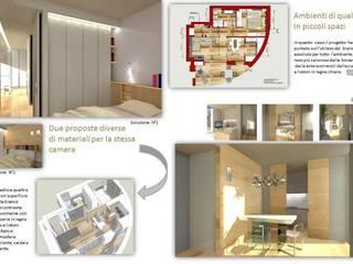 ambienti di qualità in piccoli spazi:  in stile  di Giussani Patrizia