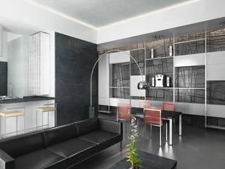 Casa M. Soggiorno moderno di studioLO architetti Moderno