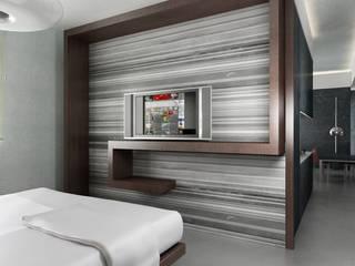 studioLO architetti Kamar Tidur Modern