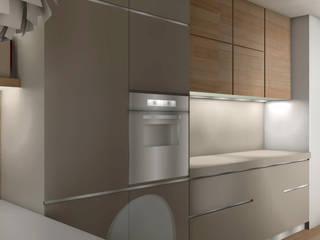 ambienti di qualità in piccoli spazi Cucina moderna di Giussani Patrizia Moderno