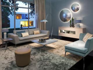 Living room by Christine Kröncke Interior Design Gmbh