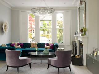 Wimbledon LEIVARS Salones de estilo moderno
