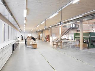 Bankraum:  Geschäftsräume & Stores von Ziegert | Roswag | Seiler Architekten Ingenieure