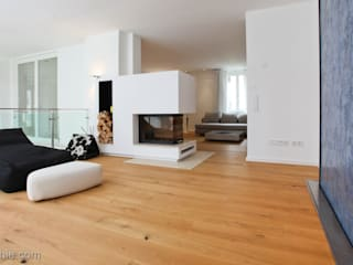 Soggiorno in stile  di Architekturbüro Ferdinand Weber