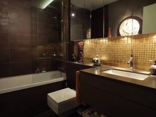 Privatbäder in warmen Tönen Moderne Badezimmer von FÜRST ARCHITECTS GmbH Modern