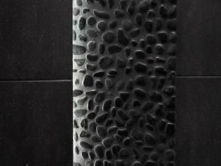 Du noir et du minéral en architecture intérieure par Philippe Ponceblanc Architecte d'intérieur Moderne