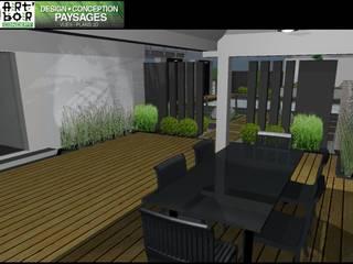 Modern terrace by Art Bor Concept Modern