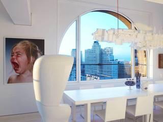 Sky House, NY: Oficinas y Tiendas de estilo  de BD Barcelona Design