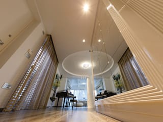 Livings de estilo  por ARCHILAB architettura e design