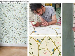 Hand painted wallpaper Peinture XXVI van Snijder&CO Klassiek