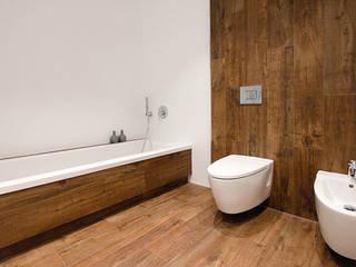 Minimalist style bathroom by Chiralt Arquitectos Minimalist