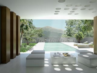 Moderne Häuser von Binomio Estudio Modern