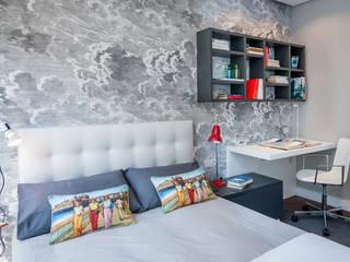 Vivienda en Plaza Euskadi Nº9, Bilbao. Dormitorios infantiles de estilo minimalista de Urbana Interiorismo Minimalista