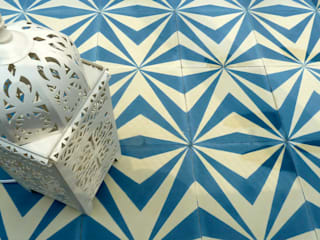 Neo cement tile:   by Maria Starling Design