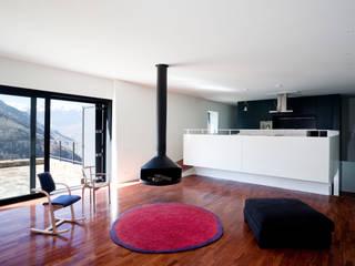 Pyrenees Cadaval & Solà-Morales Salones de estilo moderno