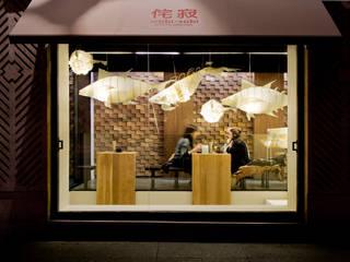 Restaurants de style  par Sandra Tarruella Interioristas, Asiatique