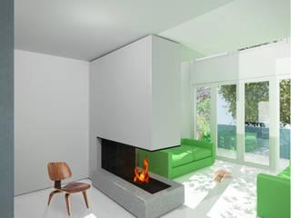 Grove Lane Apartments 3: modern Kitchen by YAM Studios