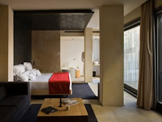 Hotel EME in Seville, Spain Donaire Arquitectos Eclectic style bedroom