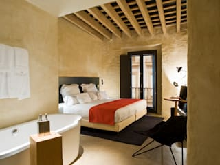 Hotel EME in Seville, Spain Donaire Arquitectos Спальня
