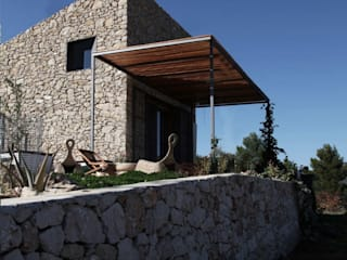 Weenkend pavilion Country style houses by Borja Garcia Studio Country