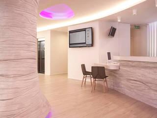 Hoteles de estilo ecléctico de Oscar Vidal Studio Ecléctico