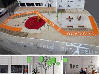 Eclectic style garden by Gravalosdimonte Arquitectos Eclectic