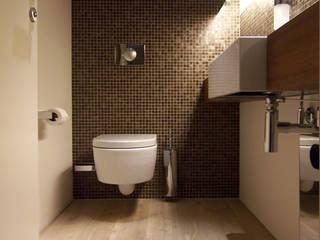 Industrial style bathroom by büro für interior design Industrial
