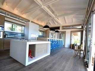 Kitchen in concrete - Spérone's Golf, South Corse Concrete LCDA KitchenBench tops