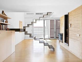 roberto murgia architetto Pasillos, vestíbulos y escaleras industriales