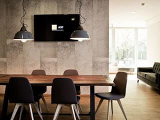 Industrial style dining room by func. functional furniture Industrial