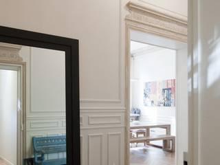 FELD Architecture 現代風玄關、走廊與階梯