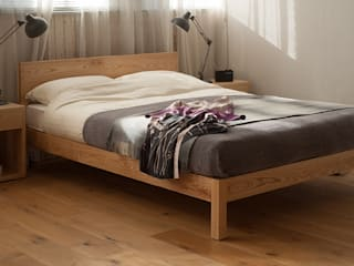 Sahara Bed von Natural Bed Company Skandinavisch