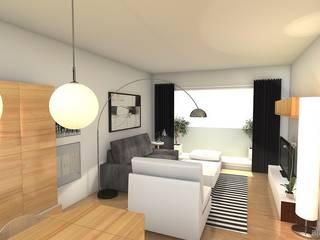 Maisons modernes par Tatiana Doria, Diseño de interiores Moderne