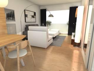 Proyectos Casas de estilo moderno de Tatiana Doria, Diseño de interiores Moderno