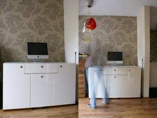 homeoffice Moderne Arbeitszimmer von hysenbergh GmbH | Raumkonzepte Duesseldorf Modern