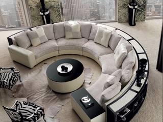 MUMARQ ARQUITECTURA E INTERIORISMO ห้องนั่งเล่นโซฟาและเก้าอี้นวม