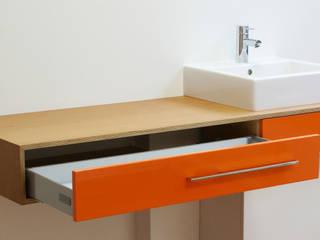 waschtischeins: modern  von hysenbergh GmbH | Raumkonzepte Duesseldorf,Modern