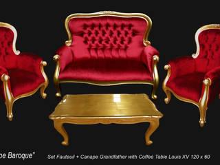 Ensemble fauteuil et banquette baroque:  de style  par déco privé