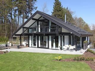 Traum-Alterswohnsitz im Westerwald Moderne Häuser von DAVINCI HAUS GmbH & Co. KG Modern
