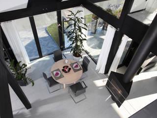 Traum-Alterswohnsitz im Westerwald Moderne Esszimmer von DAVINCI HAUS GmbH & Co. KG Modern